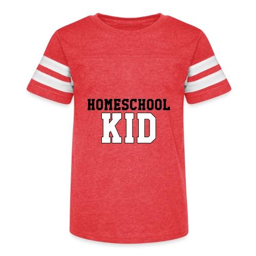 homeschoolkid - Kid's Vintage Sport T-Shirt