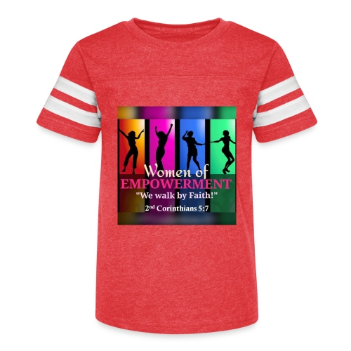 Woman Of Empowerment - Kid's Vintage Sport T-Shirt