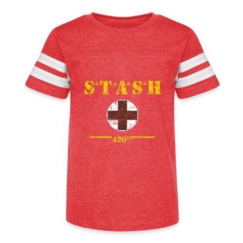 STASH-Final - Kid's Vintage Sport T-Shirt