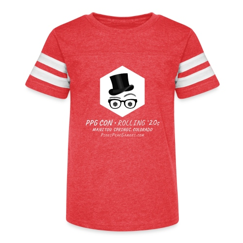 Pikes Peak Gamers Convention 2020 - Kid's Vintage Sport T-Shirt