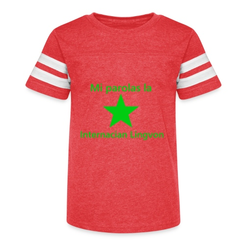 I speak the international language - Kid's Vintage Sport T-Shirt