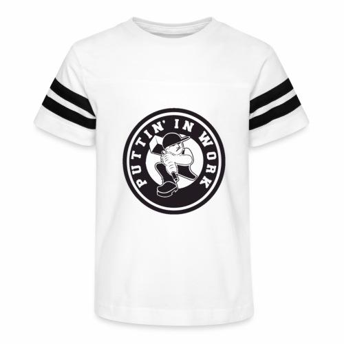 Puttin' In Work Apparel - Kid's Vintage Sport T-Shirt