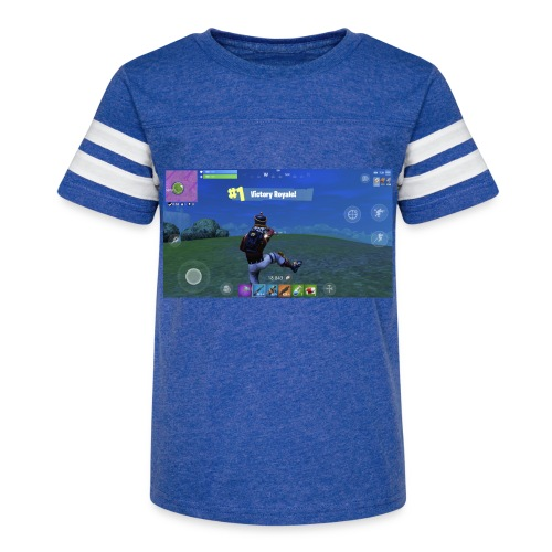 My First Win! - Kid's Vintage Sport T-Shirt
