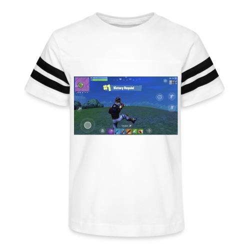 My First Win! - Kid's Vintage Sport T-Shirt