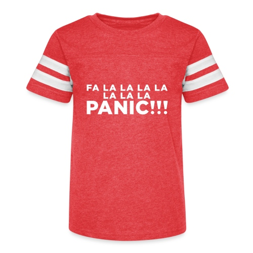 Funny ADHD Panic Attack Quote - Kid's Vintage Sport T-Shirt
