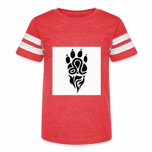 Black Leo Zodiac Sign - Kid's Vintage Sport T-Shirt