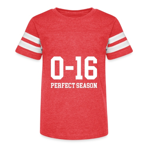 Detroit Lions 0 16 Perfect Season - Kid's Vintage Sport T-Shirt