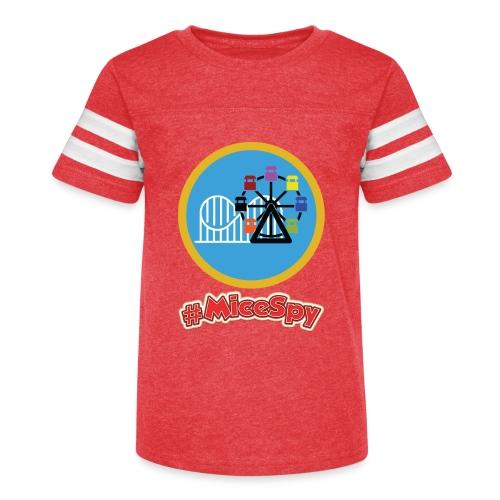 Paradise Pier Explorer Badge - Kid's Vintage Sport T-Shirt