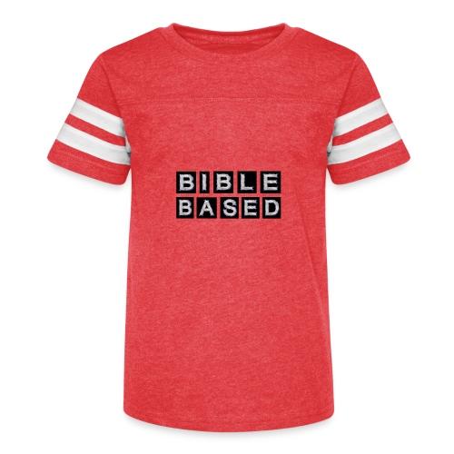 Bible Based - Kid's Vintage Sport T-Shirt