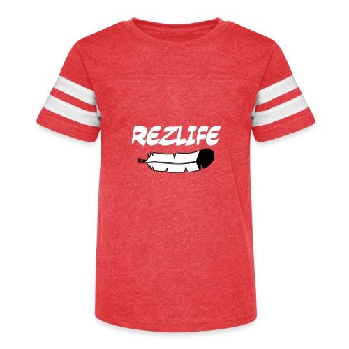 Rez Life - Kid's Vintage Sport T-Shirt