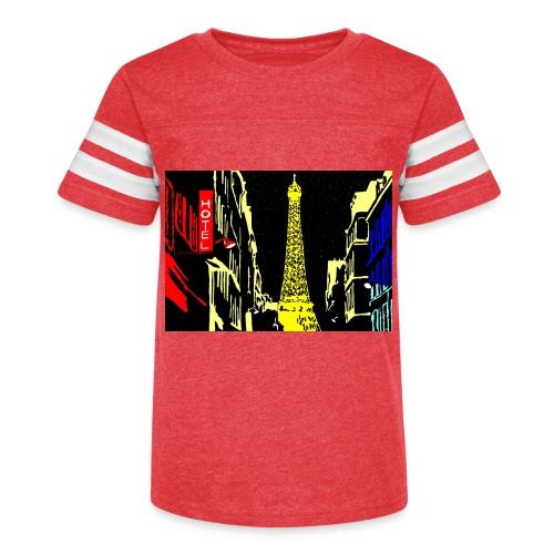 PARIS - Kid's Vintage Sport T-Shirt