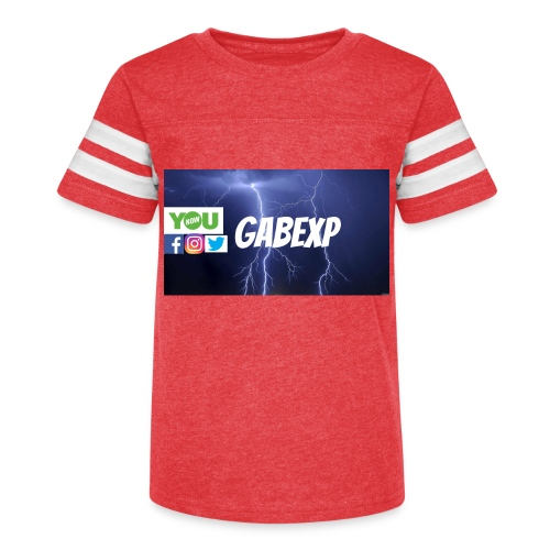 gabexp 1 - Kid's Vintage Sport T-Shirt