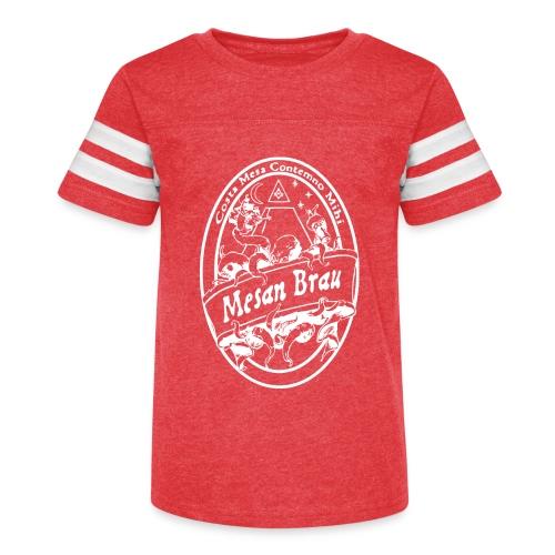 mesanbraucthsingle - Kid's Vintage Sport T-Shirt