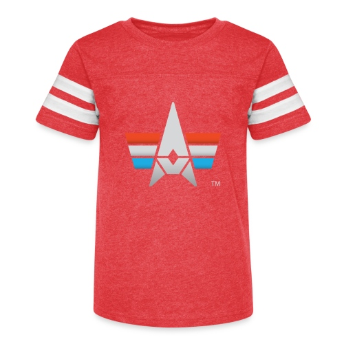 BHK Icon full color stylized TM - Kid's Vintage Sport T-Shirt