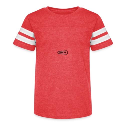 Live It V1 - Kid's Vintage Sport T-Shirt