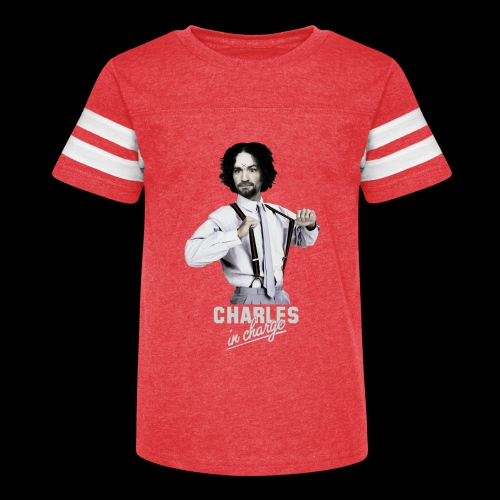 CHARLEY IN CHARGE - Kid's Vintage Sports T-Shirt