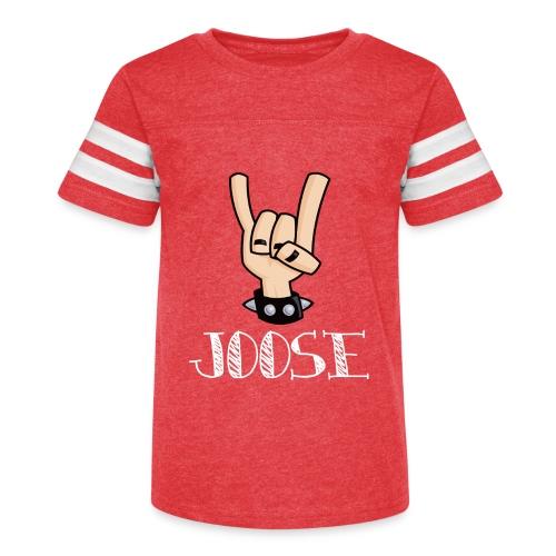 JOOSE HORNS - Kid's Vintage Sport T-Shirt