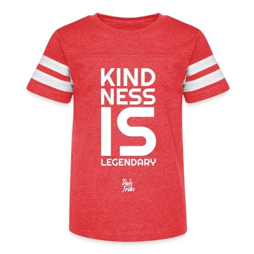 Kindness is Legendary - Kid's Vintage Sport T-Shirt
