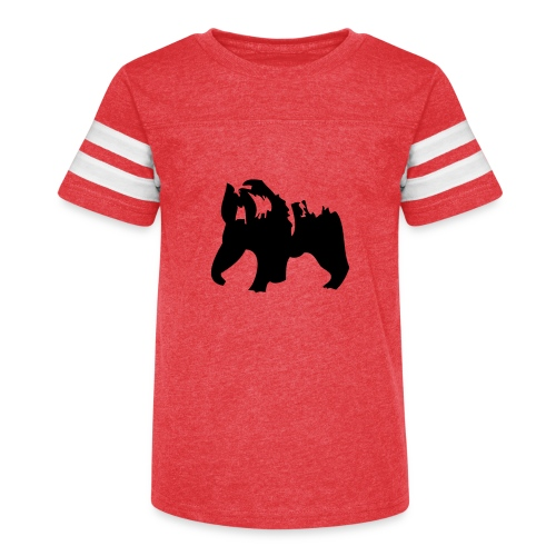 Grizzly bear - Kid's Vintage Sport T-Shirt