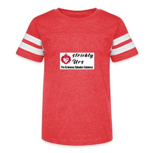 E Strictly Urs - Kid's Vintage Sport T-Shirt