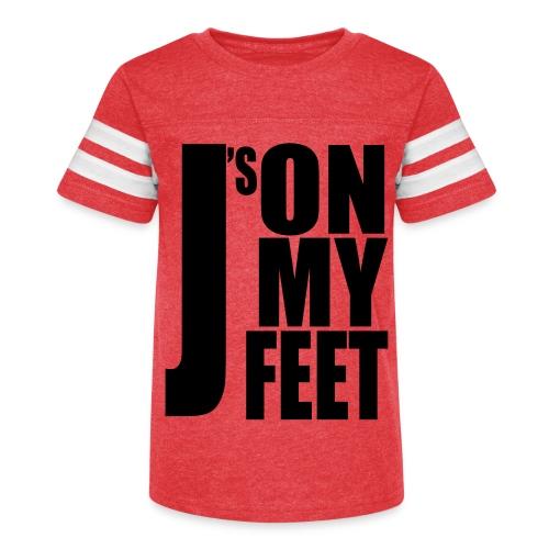 J's ON MY FEET 2 - Kid's Vintage Sport T-Shirt