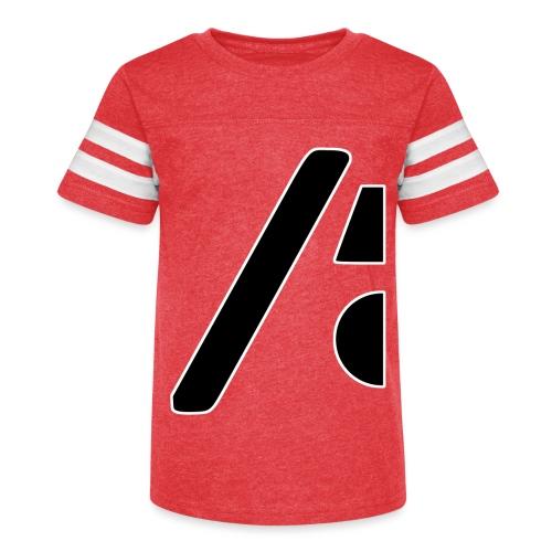 Half the logo, full on style - Kid's Vintage Sport T-Shirt