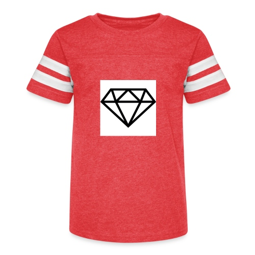 diamond outline 318 36534 - Kid's Vintage Sport T-Shirt