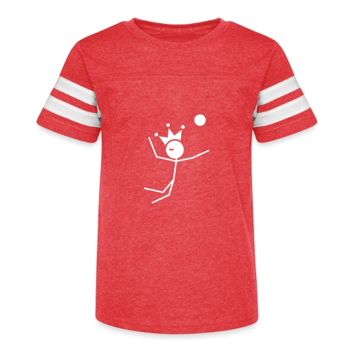 Volleyball King - Kid's Vintage Sports T-Shirt