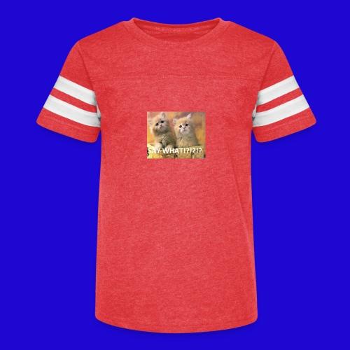 Cute Cats - Kid's Vintage Sport T-Shirt