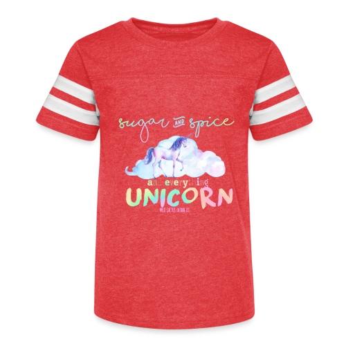 KIDS Everything Unicorn Shirt - Kid's Vintage Sport T-Shirt