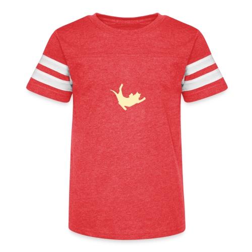 Fly Cat - Kid's Vintage Sport T-Shirt