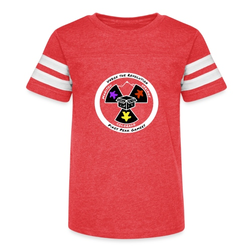 Pikes Peak Gamers Convention 2019 - Clothing - Kid's Vintage Sport T-Shirt