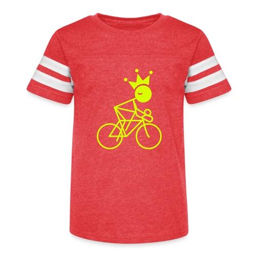 Winky Cycling King - Kid's Vintage Sport T-Shirt