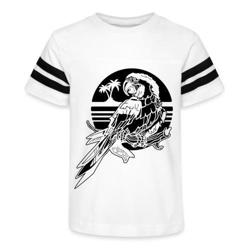 Tropical Parrot - Kid's Vintage Sport T-Shirt