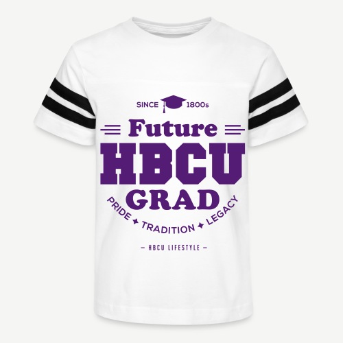 Future HBCU Grad Youth - Kid's Vintage Sport T-Shirt