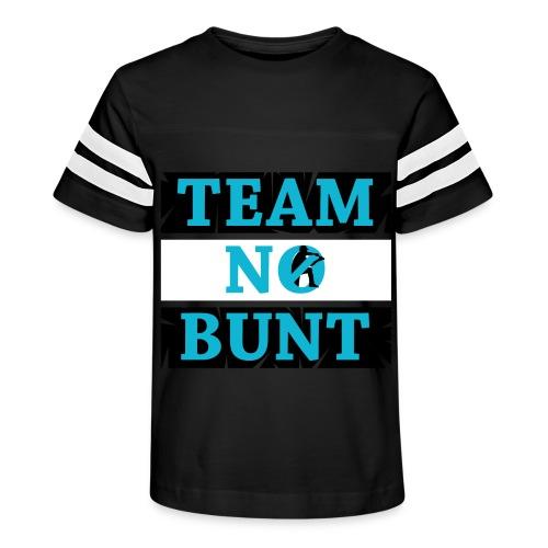 Team No Bunt - Kid's Vintage Sport T-Shirt