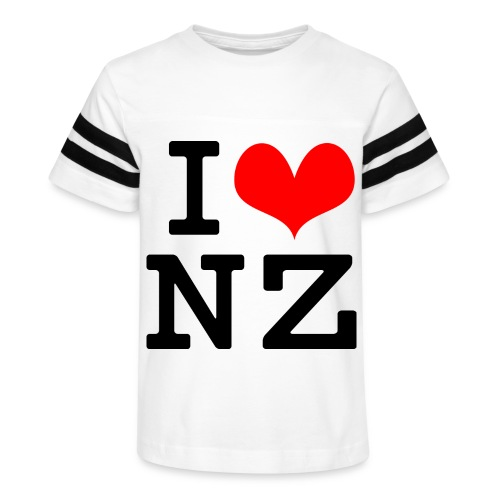 I Love NZ - Kid's Vintage Sport T-Shirt