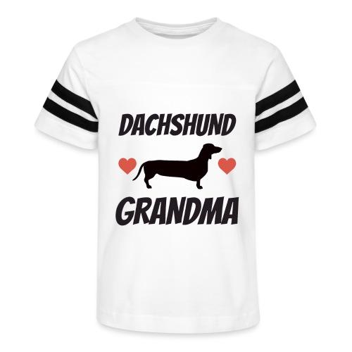 Dachshund Grandma - Kid's Vintage Sport T-Shirt