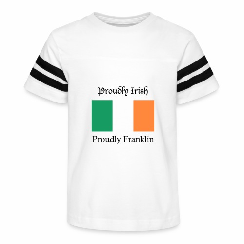 Proudly Irish, Proudly Franklin - Kid's Vintage Sport T-Shirt