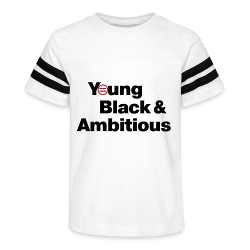 YBA white and gray shirt - Kid's Vintage Sport T-Shirt