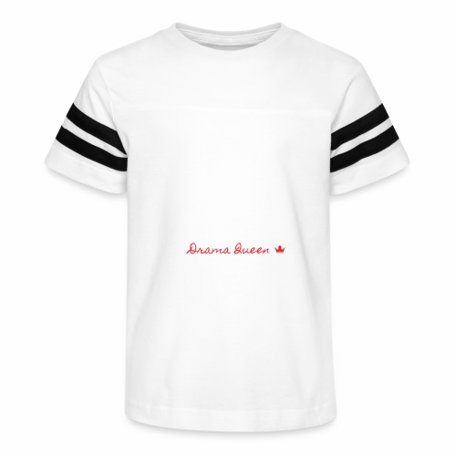 DRAMA QUEEN - Kid's Vintage Sport T-Shirt