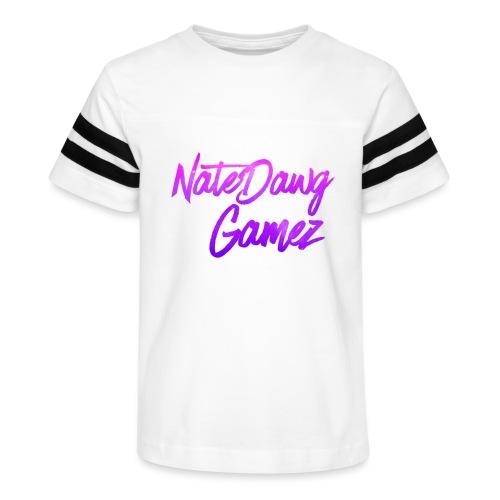 Galaxy Nate- - Kid's Vintage Sport T-Shirt