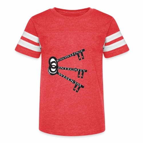 KEYS TO LIFE - Kid's Vintage Sport T-Shirt