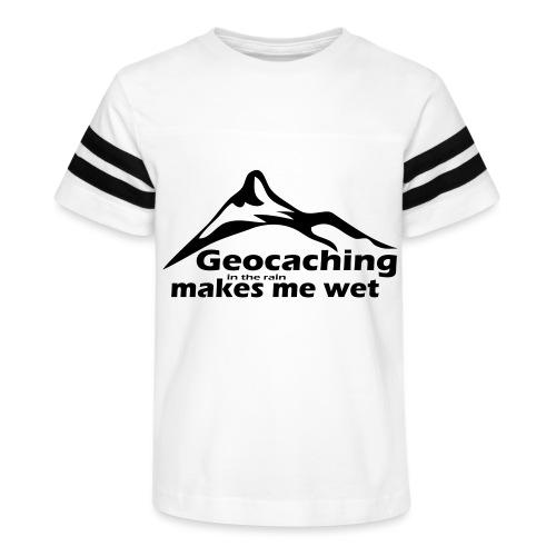 Wet Geocaching - Kid's Vintage Sport T-Shirt