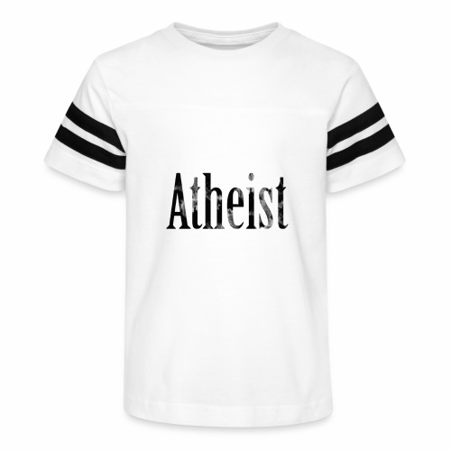 Faded Atheist - Kid's Vintage Sport T-Shirt