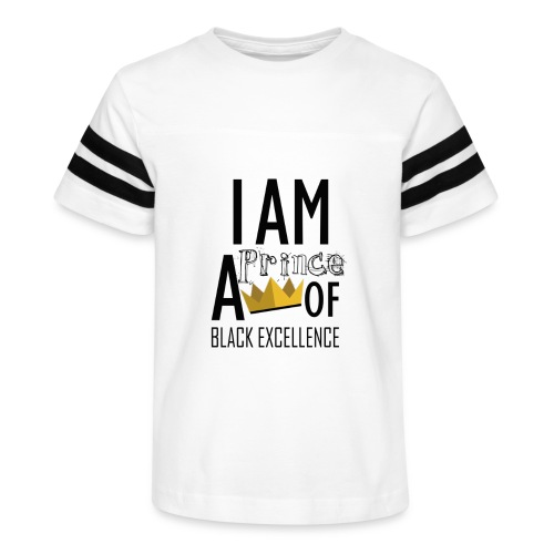 I AM A PRINCE OF BLACK EXCELLENCE - Kid's Vintage Sport T-Shirt