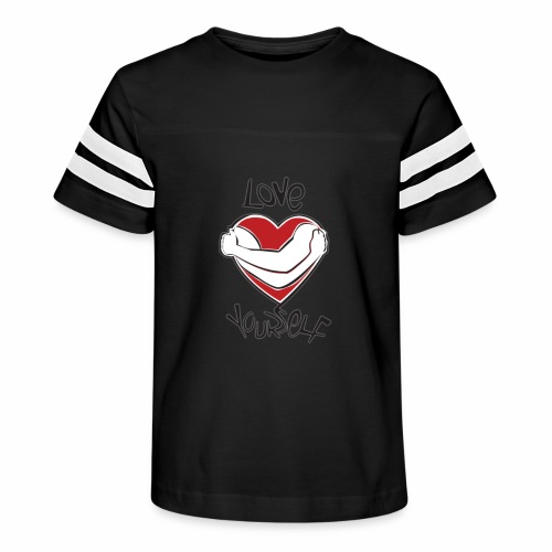LOVE YOURSELF - Kid's Vintage Sport T-Shirt