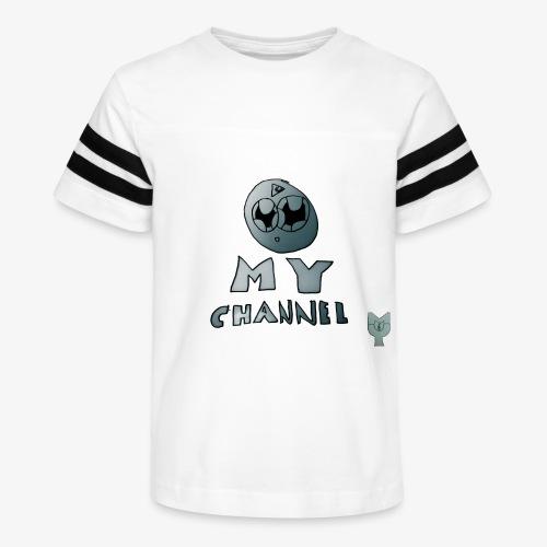 My Channel Cute - Kid's Vintage Sport T-Shirt