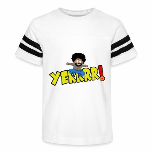 #Yerrrr! - Kid's Vintage Sport T-Shirt