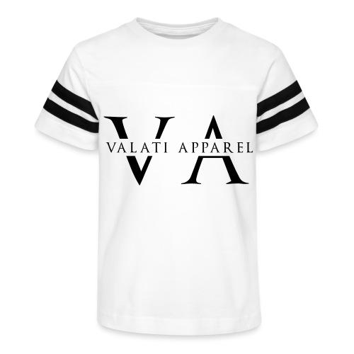VA Strikethrough - Kid's Vintage Sport T-Shirt